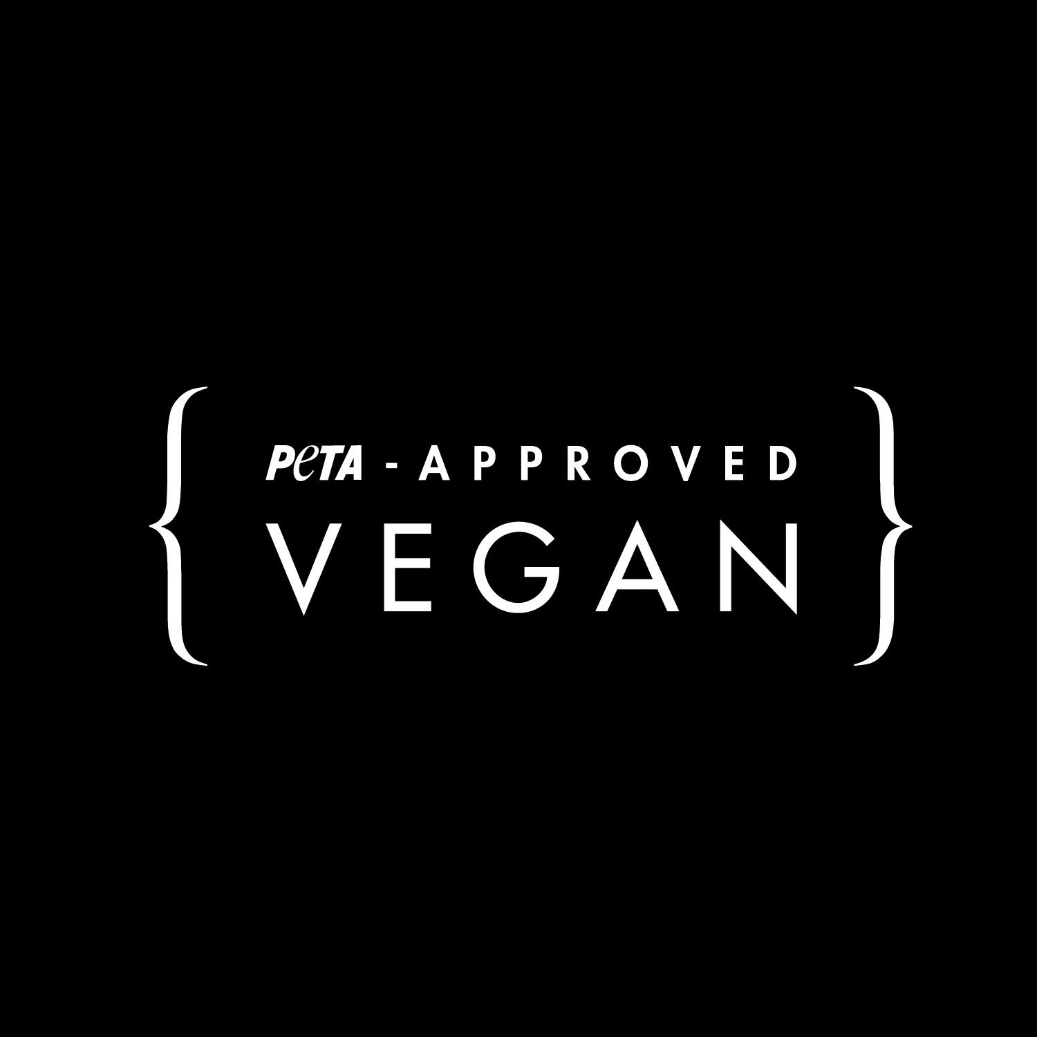 logo peta approved vegan